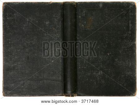 alte Distressed Vintage Schwarzbuch Hintergrund