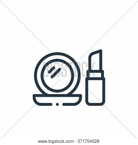 make up icon isolated on white background from  collection. make up icon trendy and modern make up s