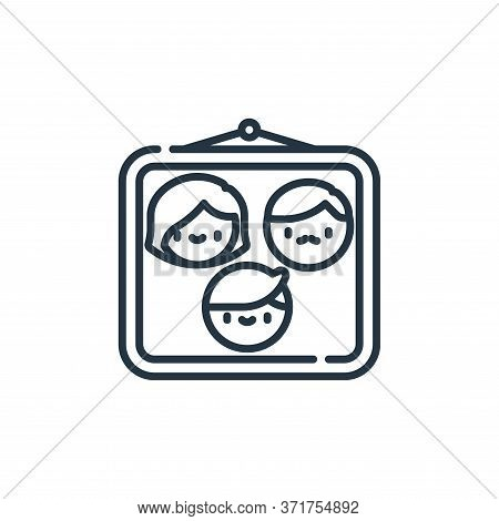 family icon isolated on white background from  collection. family icon trendy and modern family symb