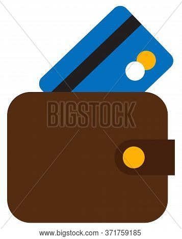 Cash And Pay Card Symbols, Logistics Worldwide, Web And Ready Money. Shopping Online, Electronic Cur