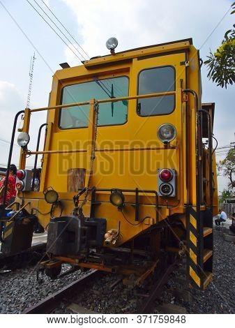 Ayutthaya Thailand-28 February 2019:ayutthaya Train Station Phra Nakhon Si Ayutthaya Railway Station