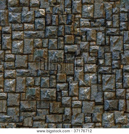 Seamless masonry wall closeup background.