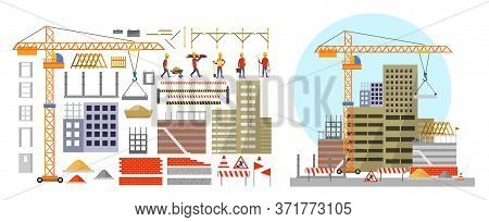 Construction Elements And Building Process