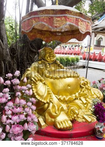 Wat Sala Loi Temple In Nakhon Ratchasima Is Located At The Old Thao Suranaree. On July 21 2018 Nakho