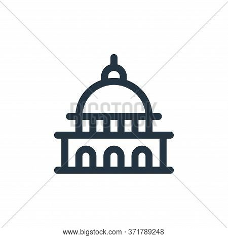 capitol icon isolated on white background from  collection. capitol icon trendy and modern capitol s