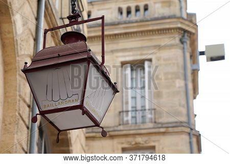 Bordeaux , Aquitaine / France - 10 17 2019 : Baillardran Canele French Pastry Company Traditional Ca