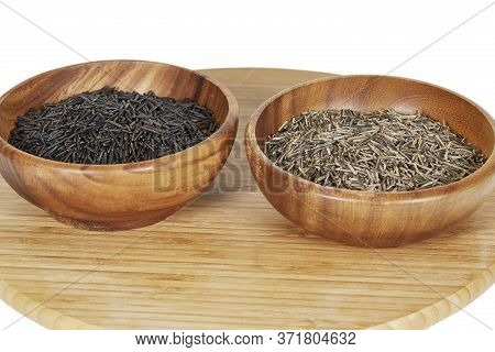 Cultivated Wild Rice And Wild Rice Comparison