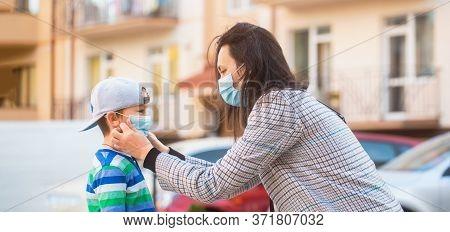 Stop The Coronavirus Spreading. People Prevent Infection From Virus. Coronavirus Quarantine. Coronav