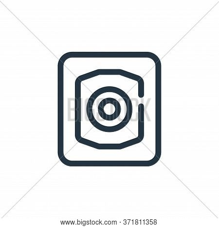 Focus Vector Icon Isolated On White Background.