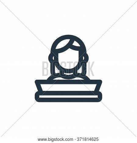 student icon isolated on white background from  collection. student icon trendy and modern student s