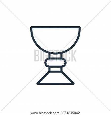 holy chalice icon isolated on white background from  collection. holy chalice icon trendy and modern