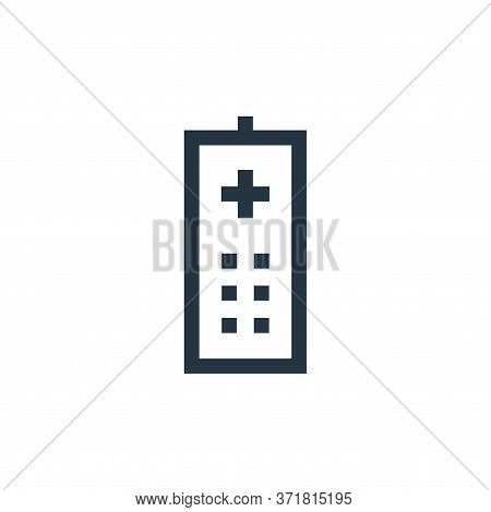remote control icon isolated on white background from  collection. remote control icon trendy and mo
