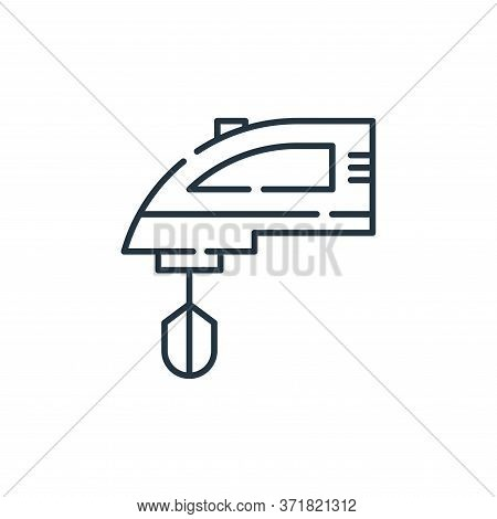 mixer icon isolated on white background from  collection. mixer icon trendy and modern mixer symbol