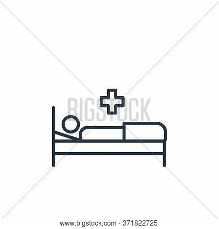 illness icon isolated on white background from  collection. illness icon trendy and modern illness s