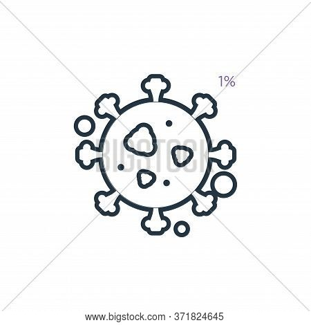 Bacillus Vector Icon Isolated On White Background.