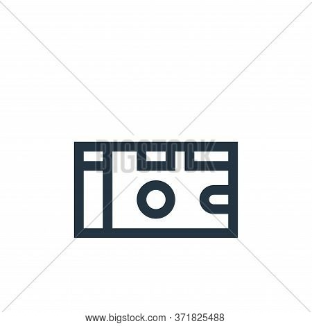 disposable camera icon isolated on white background from  collection. disposable camera icon trendy