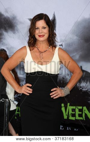LOS ANGELES - SEP 24:  Marcia Gay Harden arrives at the