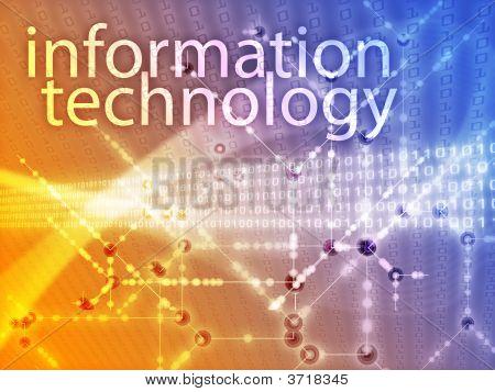 Ilustración de tecnología de información