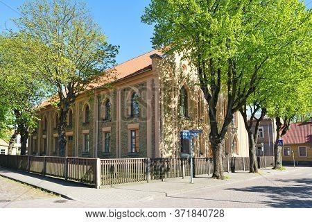 Ventspils, June 02: Architecture Of Old Town On June 02, 2020 At Ventspils, Latvia. Ventspils Is A C