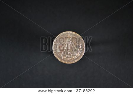 Old  mexican silver coin