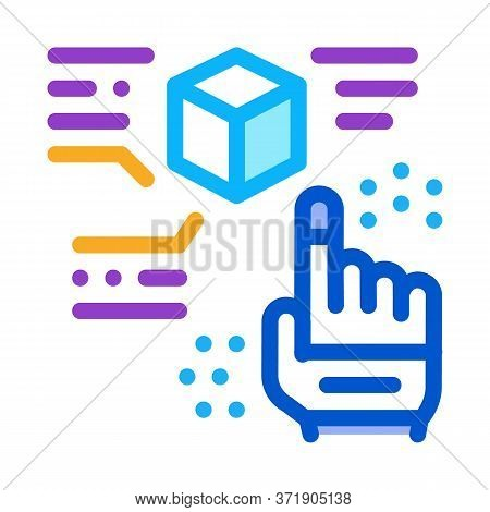 Function Parsing Icon Vector. Function Parsing Sign. Color Symbol Illustration