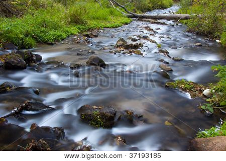 Flowing Water Of Osceola Creek