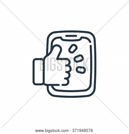 like icon isolated on white background from  collection. like icon trendy and modern like symbol for