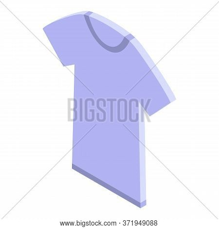 Recycle Textile Tshirt Icon. Isometric Of Recycle Textile Tshirt Vector Icon For Web Design Isolated