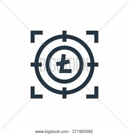 bitcoin icon isolated on white background from  collection. bitcoin icon trendy and modern bitcoin s