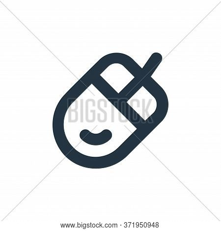mouse icon isolated on white background from  collection. mouse icon trendy and modern mouse symbol