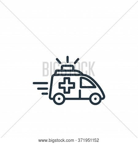 emergency icon isolated on white background from  collection. emergency icon trendy and modern emerg