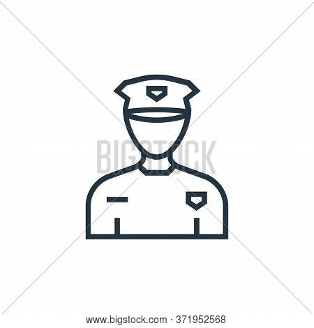 taxi driver icon isolated on white background from  collection. taxi driver icon trendy and modern t