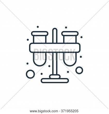 test tube icon isolated on white background from  collection. test tube icon trendy and modern test