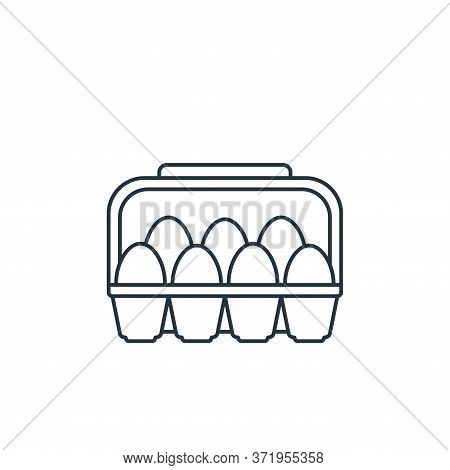 eggs icon isolated on white background from  collection. eggs icon trendy and modern eggs symbol for