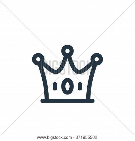 crown icon isolated on white background from  collection. crown icon trendy and modern crown symbol