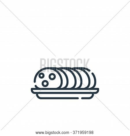 ciabatta icon isolated on white background from  collection. ciabatta icon trendy and modern ciabatt