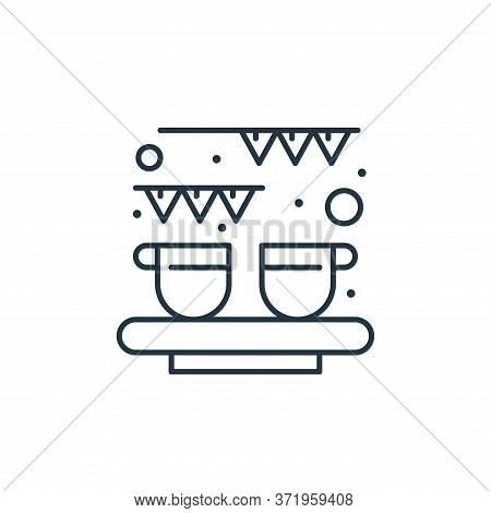 celebration icon isolated on white background from  collection. celebration icon trendy and modern c
