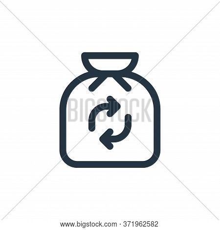trash icon isolated on white background from  collection. trash icon trendy and modern trash symbol