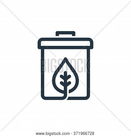 recycle bin icon isolated on white background from  collection. recycle bin icon trendy and modern r