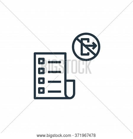 rule icon isolated on white background from  collection. rule icon trendy and modern rule symbol for