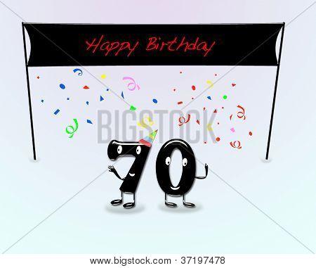70Th Birthday Party.