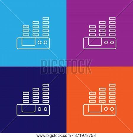 Volume Theatre Icon. Element Of Theatre Illustration. Premium Quality Graphic Design Icon. Signs And
