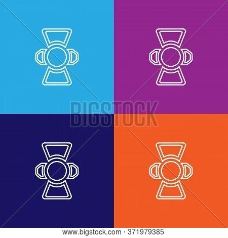 Lighting Theatre Icon. Element Of Theatre Illustration. Premium Quality Graphic Design Icon. Signs A