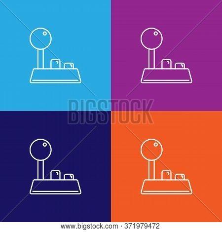 Joystick Theatre Icon. Element Of Theatre Illustration. Premium Quality Graphic Design Icon. Signs A