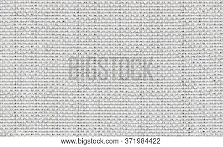 Closeup White,beige,light Grey Color Fabric Sample Texture Backdrop.white Fabric Strip Line Pattern