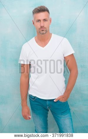 Menswear Concept. Fashion Clothes. Simple And Comfy. From Luxurious To Affordable. Summer Fashion. M