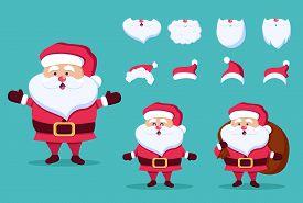 Christmas and New Year icon set. Santa Claus, gift, present. Christmas. Christmas Vector. Christmas Background. Merry Christmas Vector. Merry Christmas banner. Christmas illustrations. Merry Christmas Holidays. Merry Christmas and Happy New Year Vector Ba
