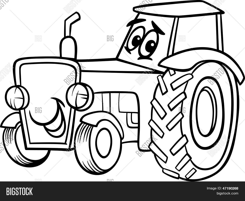 Excepcional Páginas Para Colorear De Tractores Embellecimiento ...