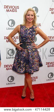 LOS ANGELES - JUN 17:  Katherine LaNasa arrives at the
