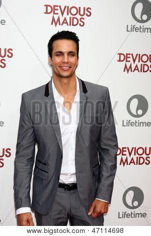 LOS ANGELES - JUN 17:  Matt Cedeno arrives at the